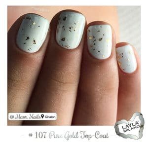Layla Milano - 107-Pure-Gold-Top-Coat