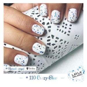 Layla Milano - 110-Crazy-Blue