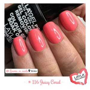 Layla Milano - 116-Juicy-Coral
