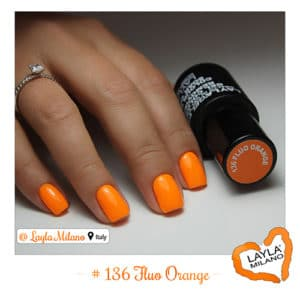 Layla Milano - 136-Fluo-Orange