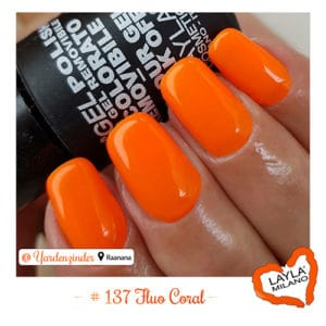 Layla Milano - 137-Fluo-Coral