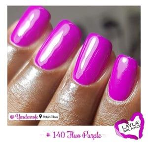 Layla Milano - 140-Fluo-Purple