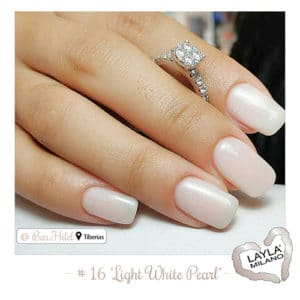 Layla Milano - 16-Light-White-Pearl