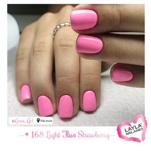 Layla Milano - 168-Light-Fluo-Strawberry