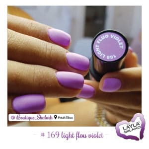 Layla Milano - 169-Light-Fluo-Violet