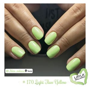 Layla Milano - 170-Light-Fluo-Yellow