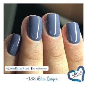 Layla Milano - 183-Blue-linger