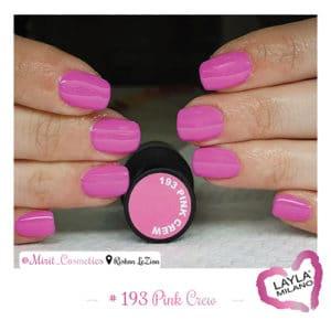 Layla Milano - 193-Pink-Crew