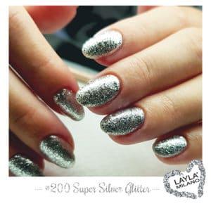 Layla Milano - 200-Super-Silver-Glitter
