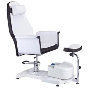 כיסא פדיקור הידראולי + רגלית - מפואר - TOM