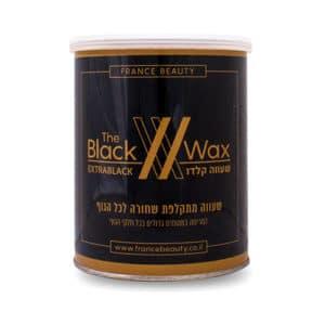 שעווה שחורה - לכל הגוף - 800 גרם