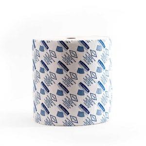 גליל נייר תעשייתי - טבעי - 1,500 - מטליות