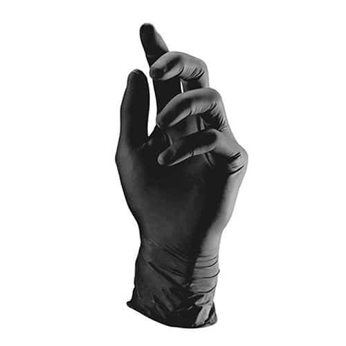 ניטריל - כפפות שחורות