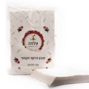 נייר פדיקור - עלמה - 100 יח' - 40X60