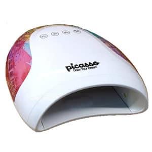 מנורת ייבוש משולבת LED / UV פיקאסו