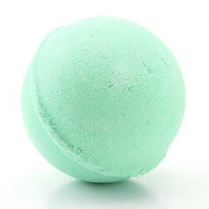 פצצת אמבטיה לפדיקור - ירוק - תה ירוק