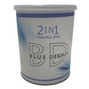 שעווה כחולה חזקה במיוחד 2In1 - פראנס ביוטי