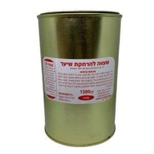 """שעווה קרה - לייף - 1.5 ק""""ג בפח - ביוטי דיפו"""